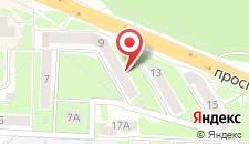 Апартаменты На Проспекте Мира 11 на карте