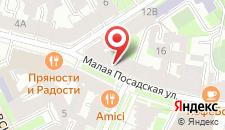 Отель Искра на карте