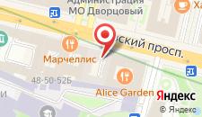 Хостел Страна Чудес на Невском-Ретро на карте