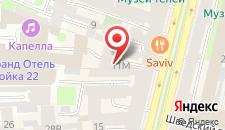 Гостиница Дворы Капеллы на карте