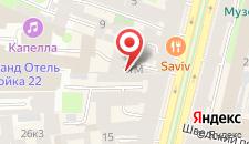 Хостел Nevsky Hostel Russia на карте