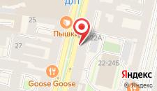 Отель Невский Гранд на карте