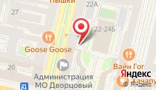 Отель Золотой треугольник на карте