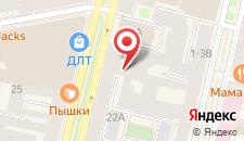Хостел Qhostel на карте