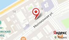 Хостел Русь на карте
