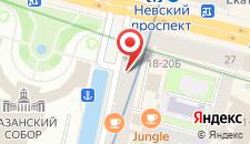 Хостел Друзья на Грибоедова на карте