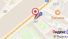 Отель На Садовой, 26 на карте