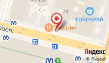 Мини-отель Ра Невский 44 на карте