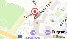 Отель Могилев на карте