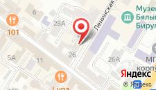 Апартаменты На Ленинской 28 на карте