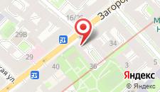 Гостиница Джазклуб на карте