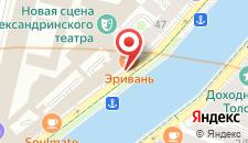 Хостел Какадуева на карте