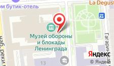 Гостиница Rinaldi у летнего сада на карте