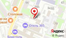 Отель 365 SPB на карте