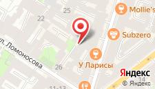Хостел Пилау на Рубинштейна на карте
