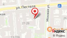 Капсульный отель InBox на карте