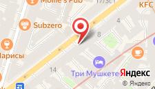 Отель Троицкий на карте
