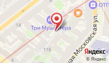 Мини-отель Номера на Загородном на карте