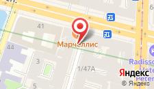 Отель Ангел на карте