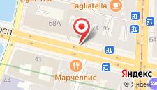 Отель Красный Терем на карте