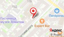 Гостиница BEDANDBIKE DOSTOEVSKOGO на карте