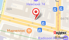 Отель Валерия на карте
