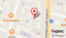 Отель Астон на карте