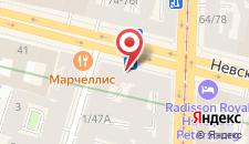 Хостел Невский хостел на карте