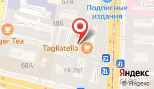Гостиница ABRACADABRA на карте