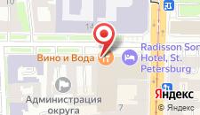 Отель Индиго на Чайковского на карте