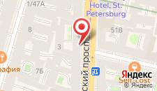Мини-отель Владимирский на карте