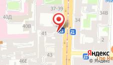 Хостел SuperHostel на Литейном на карте