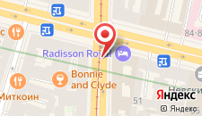 Отель Radisson Royal на карте