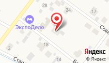 Мини-отель У Баболовского парка на карте