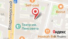 Мини-отель Сюзор на карте
