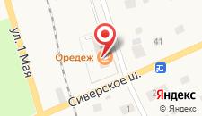 Мини-отель Лида на карте