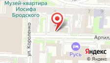 Отель Арбат Норд на карте