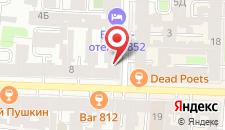 Мини-отель Комфорт на Чехова на карте