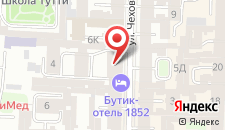 Мини-отель Чехов на карте