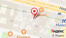 Гостиница Доминик Хаус на карте