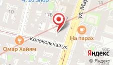 Отель Станция M19 на карте
