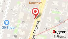 Отель Гельвеция на карте