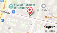 Апартаменты Премиум на карте