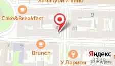 Мини-отель Соната на Маяковского на карте