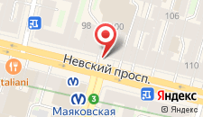 Гостиница Невский Ряд - Невский 100 на карте