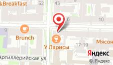 Хостел Васькин Дом на карте