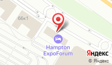 Отель Hampton by Hilton ExpoForum на карте