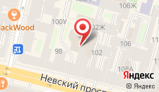 Гостиница Белые Ночи на Невском на карте