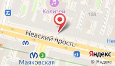 Мини-отель РА Невский 102 на карте