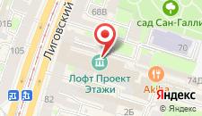 Хостел Локейшн на карте
